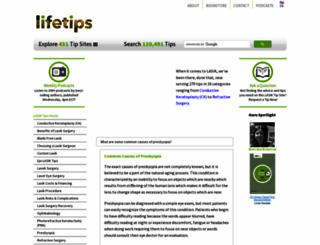 lasik.lifetips.com screenshot