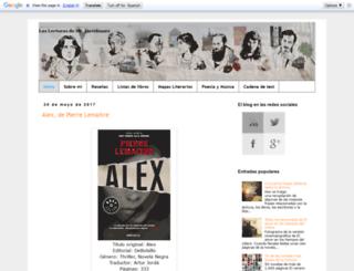 laslecturasdemrdavidmore.blogspot.com.es screenshot