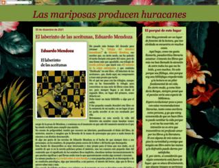 lasmariposasproducenhuracanes.blogspot.mx screenshot