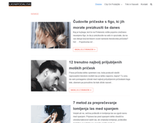 lasnipodaljski.si screenshot
