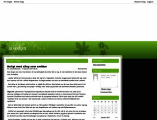 lasodon.bloggplatsen.se screenshot