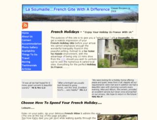lasoumaille.me.uk screenshot