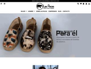 laspacas.com screenshot
