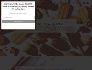 laspaletas.co.za screenshot