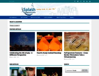 lasplash.com screenshot
