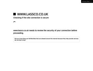 lassco.co.uk screenshot
