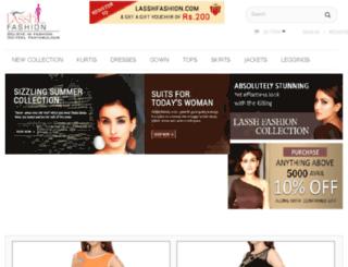 lasshfashion.com screenshot