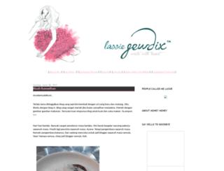 lassiegewdix.blogspot.com screenshot