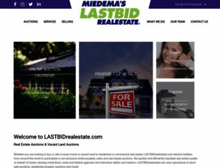 lastbidrealestate.com screenshot