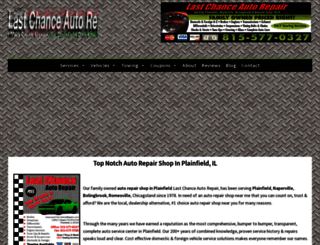 lastchanceautorepairs.com screenshot