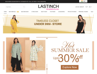 lastinch.in screenshot
