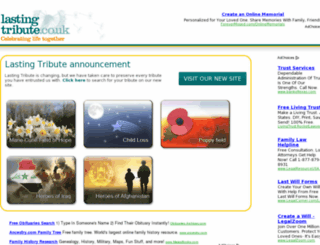 lastingtribute.thisishull.co.uk screenshot