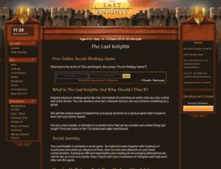 lastknights.com screenshot