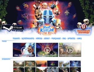 lastknightthegame.com screenshot