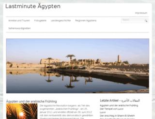 lastminute-aegypten.info screenshot