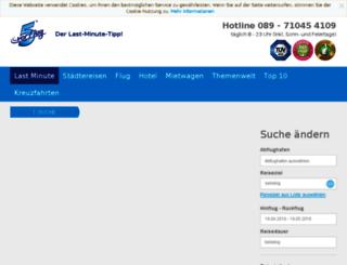 lastminute.5vorflug.de screenshot