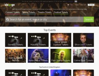lastminute.viagogo.com screenshot