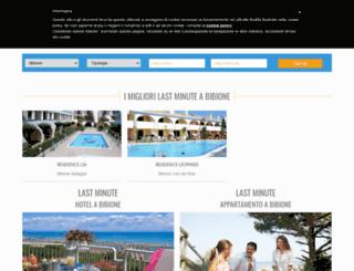 lastminutebibione.com screenshot