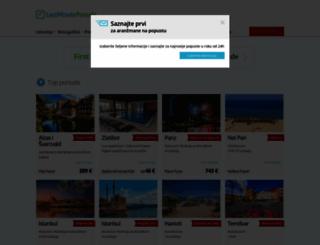 lastminuteponude.com screenshot