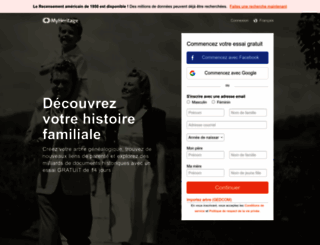 lastnames.myheritage.fr screenshot