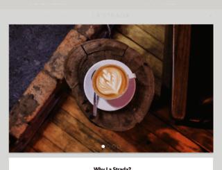 lastradaespressomachines.com screenshot