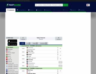 lastscores.com screenshot