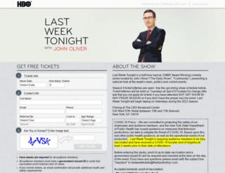 lastweektickets.com screenshot