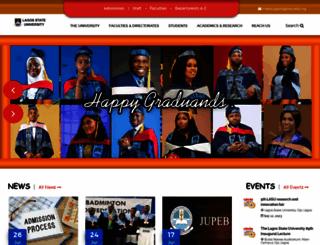 lasu.edu.ng screenshot