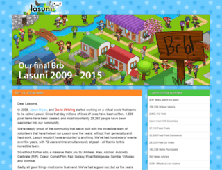 lasuni.com screenshot