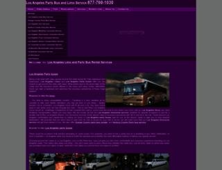 lasuvlimo.com screenshot
