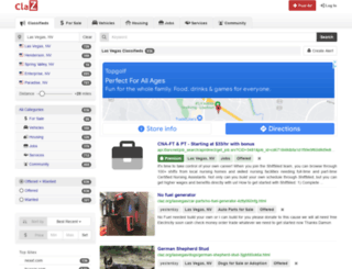 lasvegas.claz.org screenshot