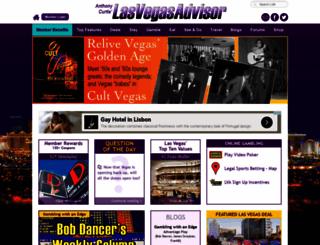 lasvegasadvisor.com screenshot