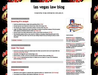 lasvegaslawblog.blogspot.com screenshot
