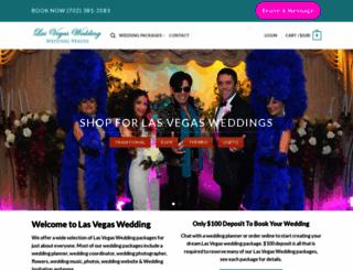 lasvegaswedding.com screenshot