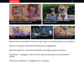 lat2.mixnews.lv screenshot