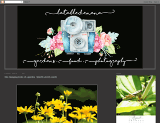 latabledenana.blogspot.ca screenshot