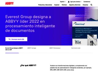 latam.abbyy.com screenshot