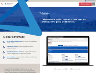 latam.debtwire.com screenshot