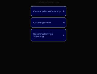latamcatering.com screenshot