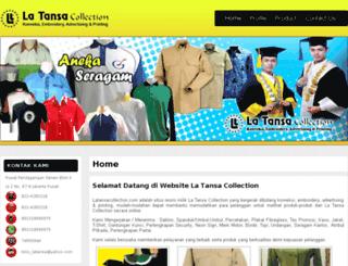 latansacollection.com screenshot