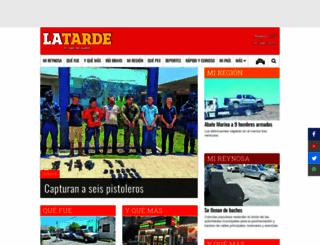 latarde.com.mx screenshot