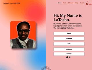 latasharjones.com screenshot