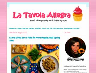 latavolaallegra.blogspot.com screenshot