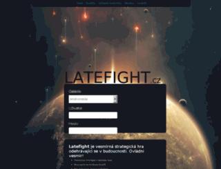 latefight.cz screenshot