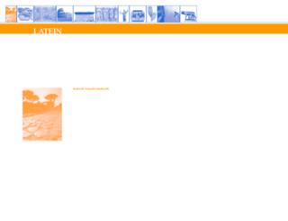 latein.ch screenshot