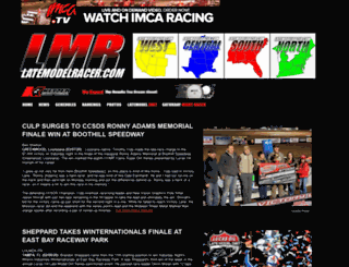 latemodelracer.com screenshot