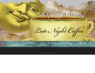 latenightcoffee.wordpress.com screenshot