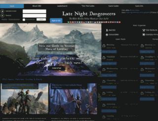 latenighteso.com screenshot