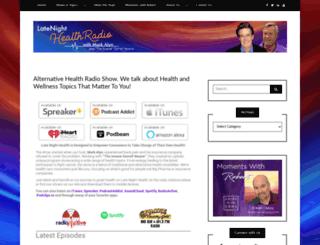 latenighthealth.com screenshot