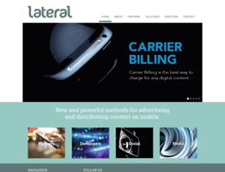lateralnz.com screenshot